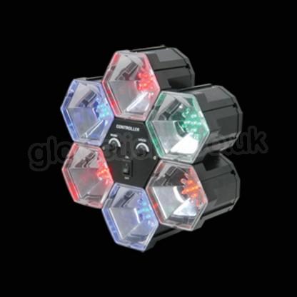 Disco lights that react to sound