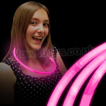 Glow Necklaces Glow Necklaces #0: glow necklaces pink 7