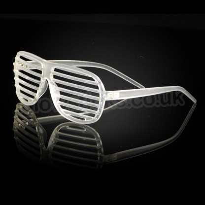 Glow In The Dark Shutter Shades Light Up Novelties