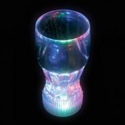 Flashing Coke Glass