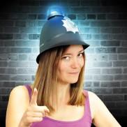Flashing Police Helmet Wholesale
