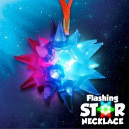 Flashing Star Necklaces Wholesale