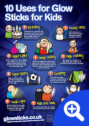 Top 10 Uses for Glowsticks for Kids