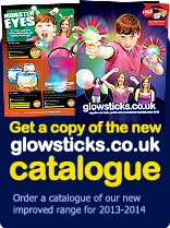 Get a copy of the new GlowSticks.co.uk catalogue