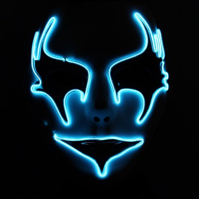 Ladies EL Glow Wire Party Masks