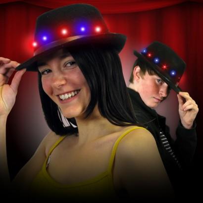 Light Up Fedora Hat