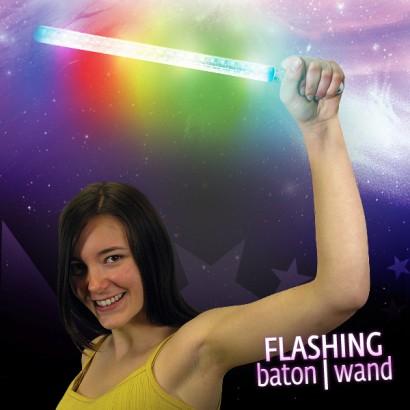 Flashing Baton Or Wand