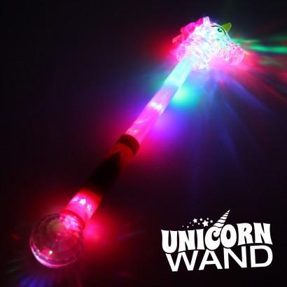 Large Flashing Unicorn Wand Wholesale