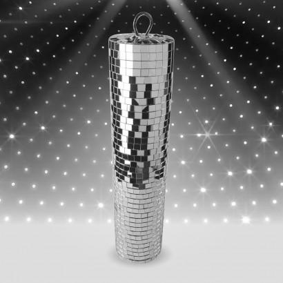 Slim Mirror Cylinder (9cm diameter x 40cm H)