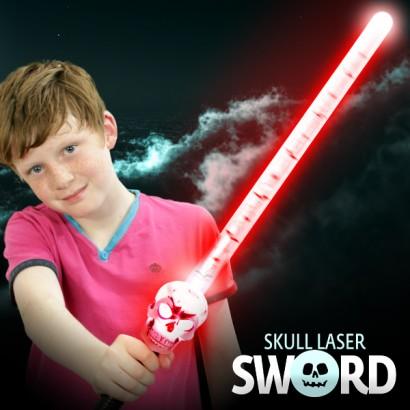 Light Up Skull Sword