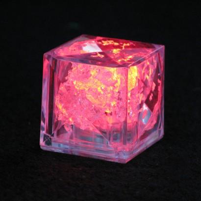 flashing led ice cubes light up barware glowsticks co uk