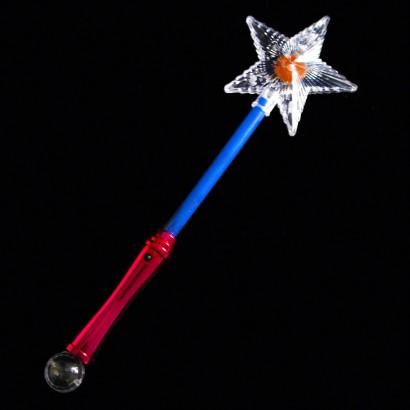 Flashing star wand light up novelties for Led wands wholesale