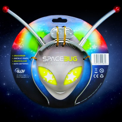 Space Bug Head Boppers Light Up Novelties Glowsticks Co Uk