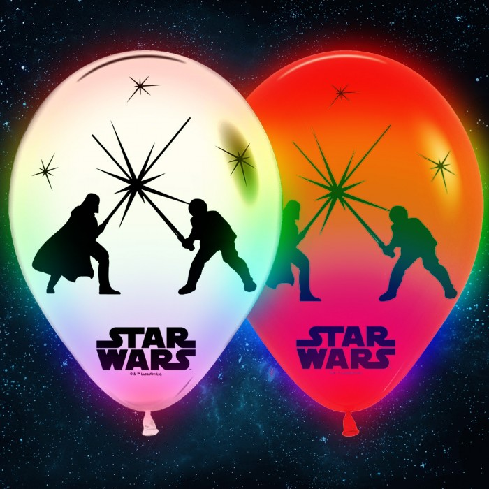 Star Wars LED Balloons (5 pack)