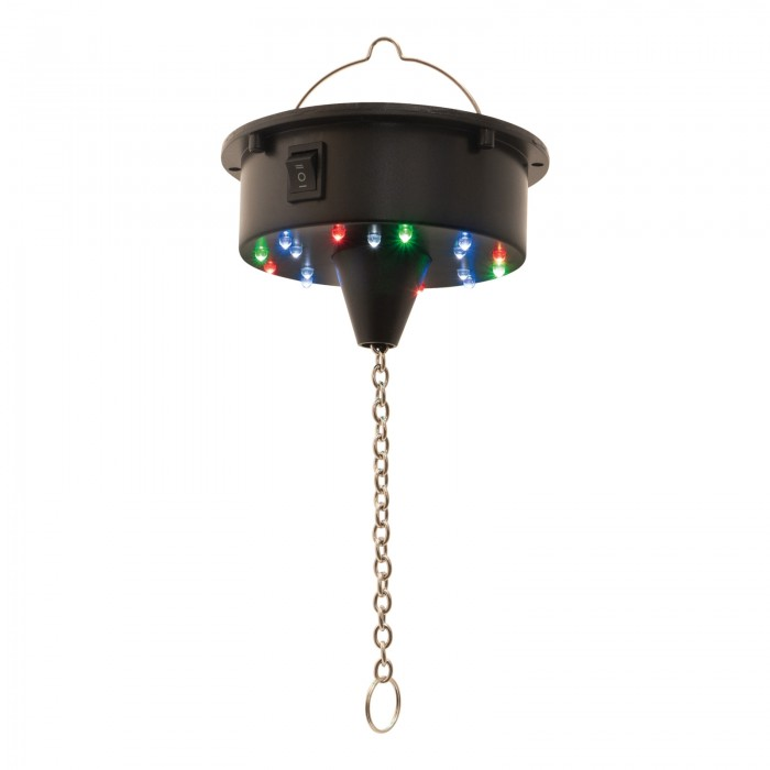 Battery Operated LED Mirrorball Motor
