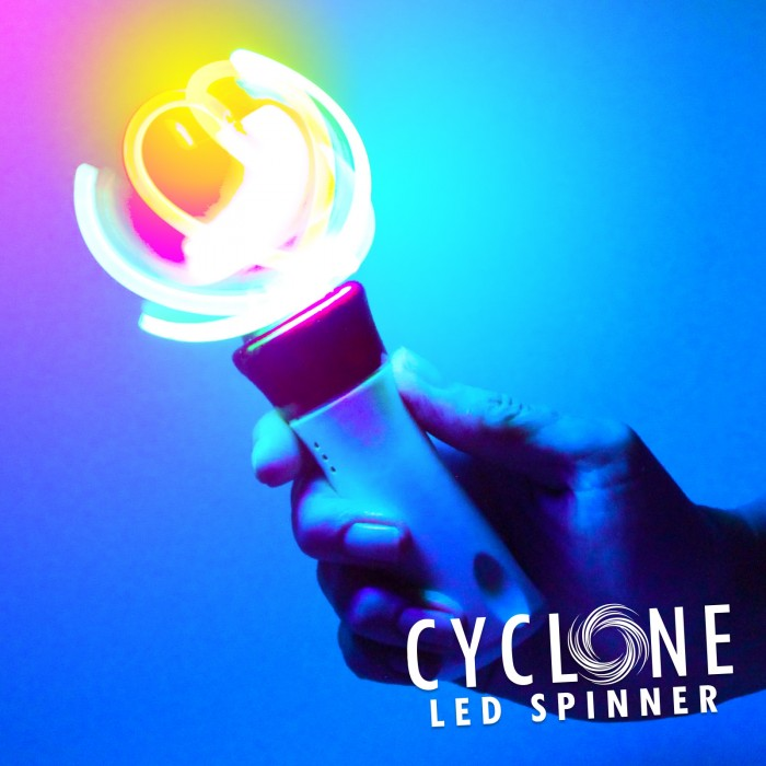 Flashing Cyclone Spinner Wholesale
