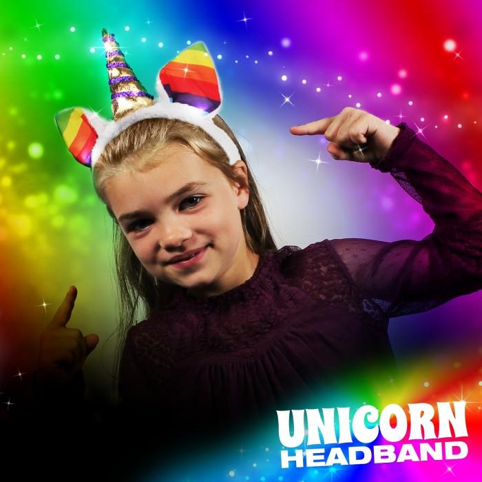 Flashing Unicorn Headband Wholesale