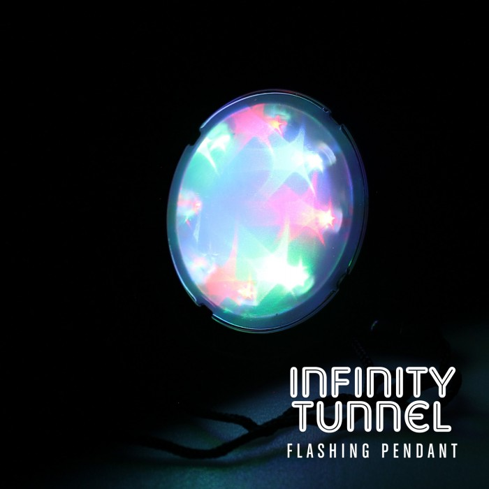 Light Up Infinity Tunnel Pendant