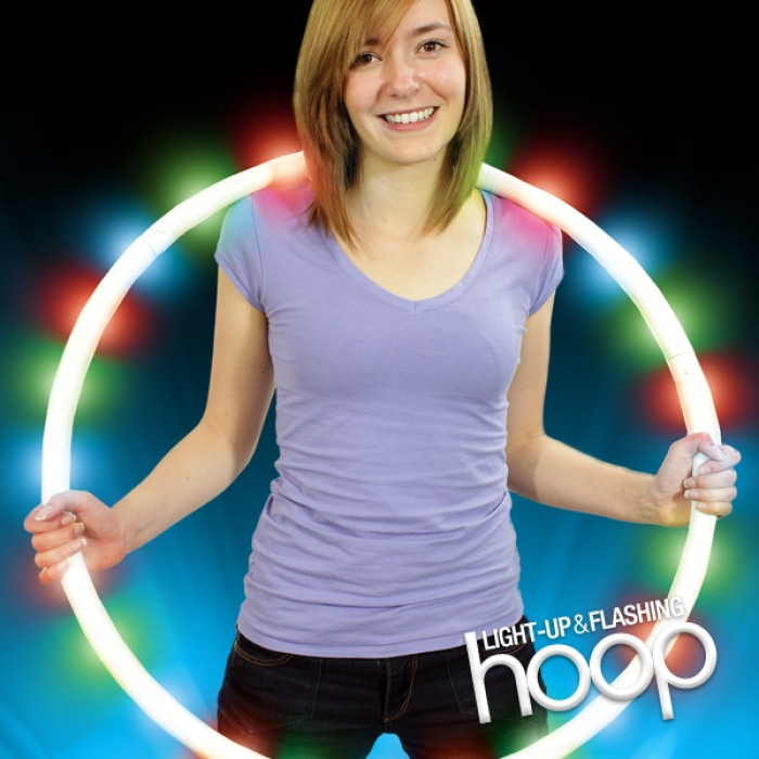 Light Up and Flashing Hoop