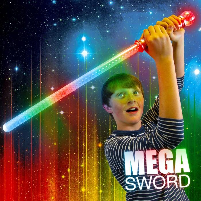 Flashing Mega Sword with Ball Wholesale