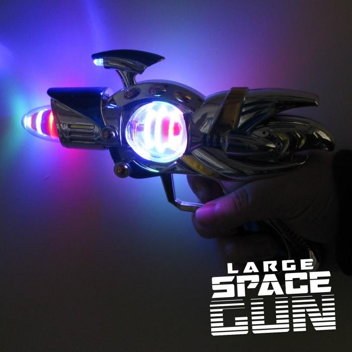 Light Up Space Guns Large