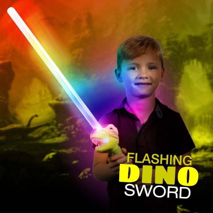 Light Up Dinosaur Sword