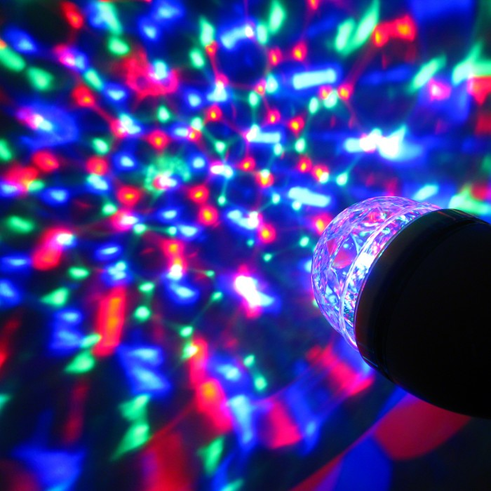 Kaleidoscopic Party Bulb