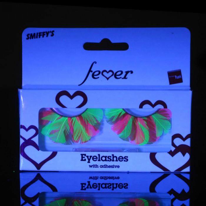 Neon Feather Eyelash
