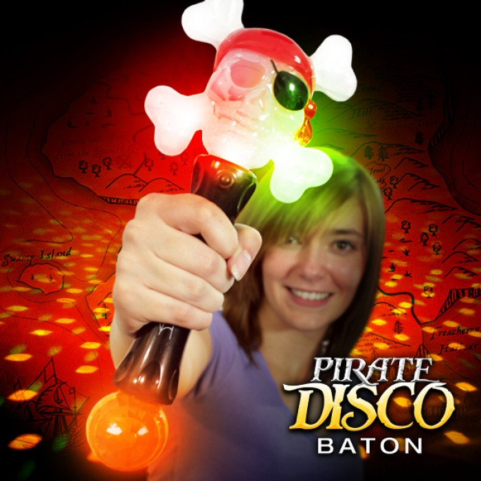 Light Up Pirate Baton
