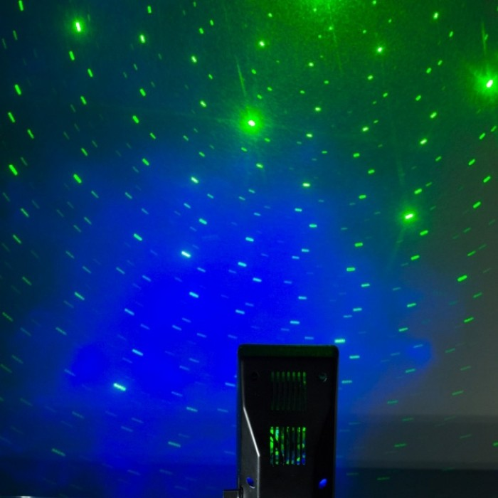 Star and cloud effect Space Galaxy Laser Projector