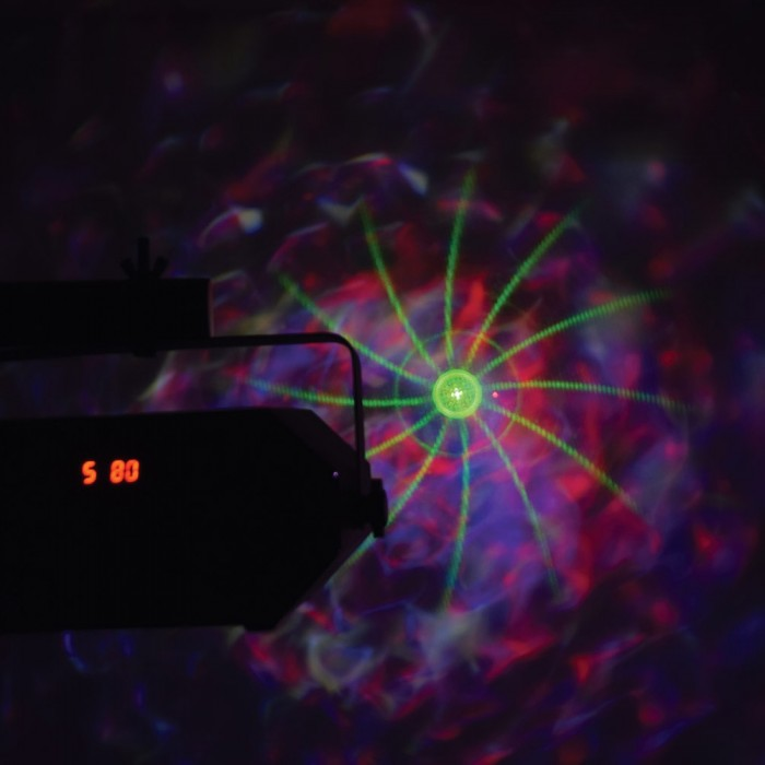 Tetra LED Moonflower Disco Light with Lasers