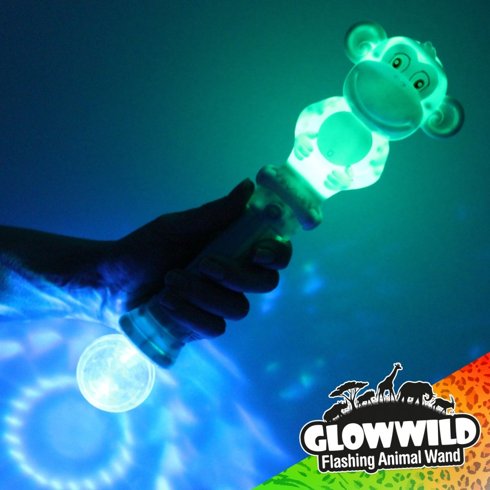 Monkey Mega Light Up Animal Wand
