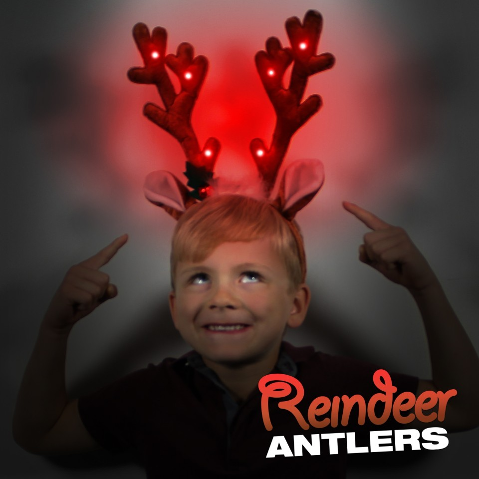Reindeer Antler Headband Wholesale