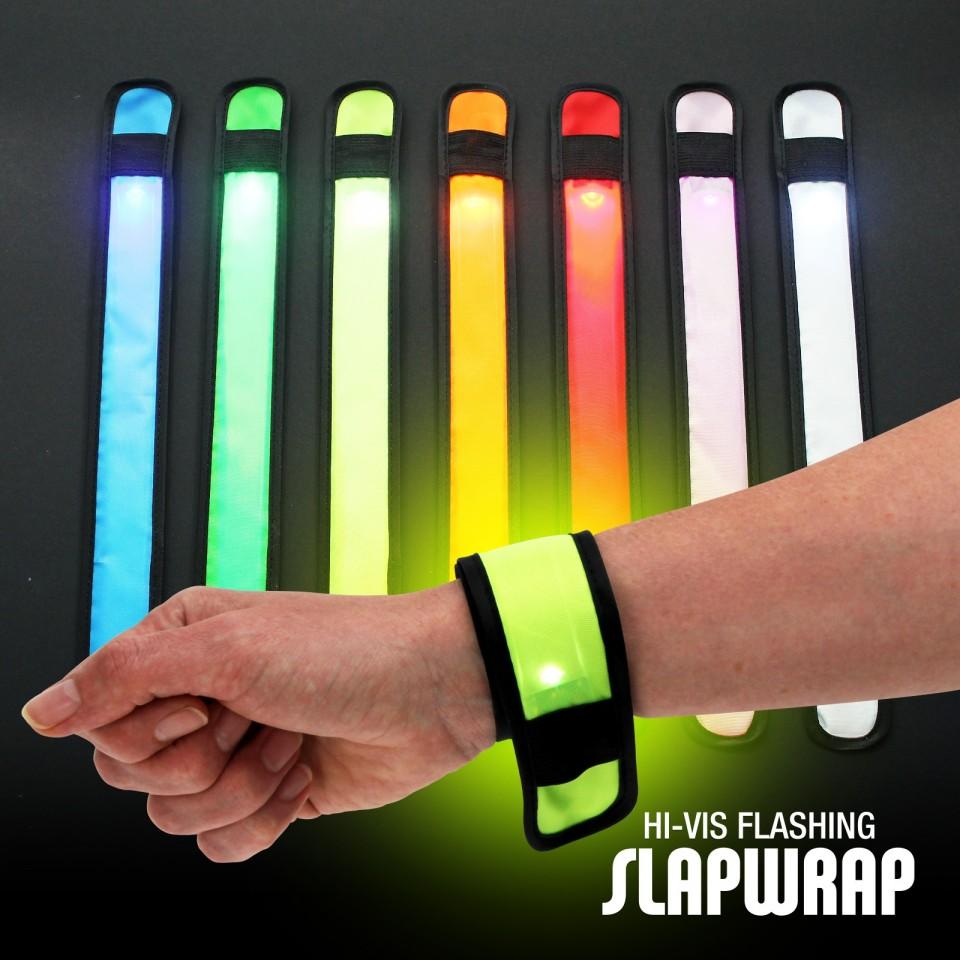 Light Up Slap Wrap