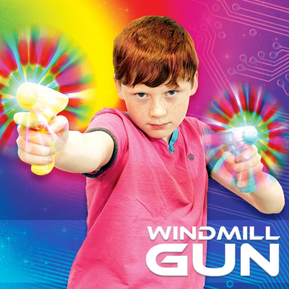 Flashing Windmill Gun Wholesale