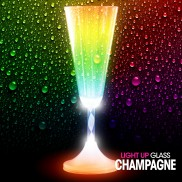Light Up Champagne Glass