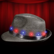 Light Up Fedora Hat Wholesale