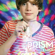 Flashing Prism Ball Necklace