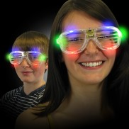 Light Up Shutter Shades