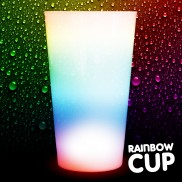 Flashing Rainbow Cups