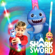 Flashing Shark Sword