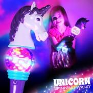 Flashing Unicorn Spinner