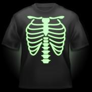 Glow T-shirt - Skeleton