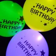 Illoom Balloons Happy Birthday (5 Pack)