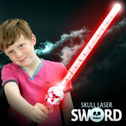 Light Up Skull Sword