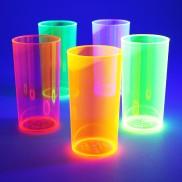 Uv Reactive High Ball Glasses