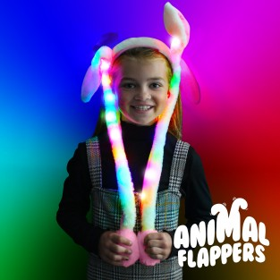 Light Up Animal Flappers