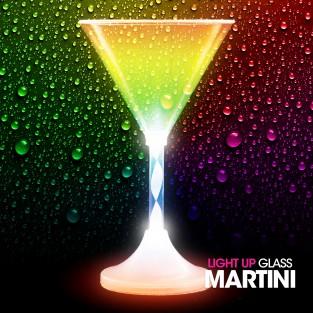 Light Up Martini Glass Wholesale