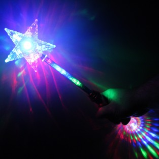 Flashing Star Wand