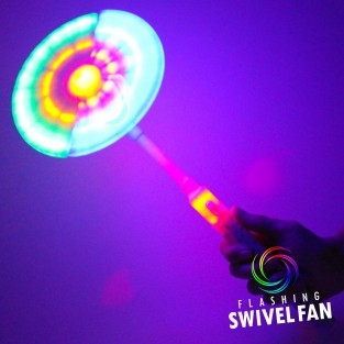 Light Up Swivel Fan